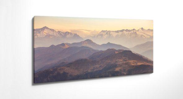 Kitzbühel, Berge, Leinwandbild, Acrylglasbild, Wandbild