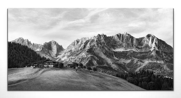 Wilder Kaiser, Kitzbühel, Leinwandbild